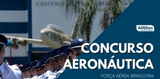 Destinado a preencher 242 vagas, concurso Aeronáutica conta com oportunidades em cinco especialidades: mecânica de aeronaves, material bélico, guarda e segurança, equipamento de voo e controle de tráfego aéreo