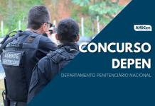 Com 309 vagas para cargos de níveis médio e superior, concurso Depen(Departamento Penitenciário Nacional) estava suspenso desde agosto do ano passado em função da pandemia de coronavírus