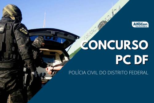 Com mais de 52 mil inscritos, concurso PC DF (Polícia Civil do Distrito Federal) tinha as avaliações objetiva e discursiva marcadas para 10 de abril. Processo seletivo preencherá 300 vagas