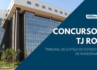 O concurso TJ RO (Tribunal de Justiça de Rondônia) recebe inscrições até o dia 28 de abril, próxima quarta-feira