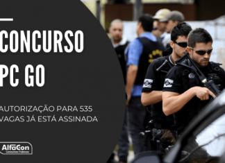 Novo concurso PC GO (Polícia Civil de Goiás) deverá contar com oportunidades para diversas carreiras, com previsão para outubro de 2022