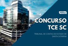Concurso TCE SC (Tribunal de Contas do Estado de Santa Catarina) tem previsão de 160 postos de auditor, sendo 40 imediatos e 120 cadastros de nível superior