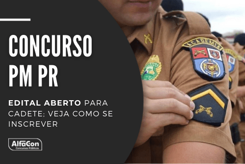 Podem concorrer a uma das vagas no concurso da PM PR (Polícia Militar do Paraná) candidatos com nível médio e idade até 30 anos. Salário chega a R$ 9,7 mil