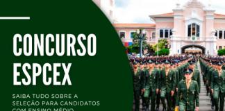 As inscrições no concurso EsPCEx de nível médio terão início no dia 11 de maio. Depois de formado, o segundo-tenente tem um salário de R$ 7,4 mil