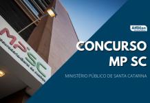 Novo concurso MP SC (Ministério Público de Santa Catarina) deve ocorrer em breve. Cargos e vagas ainda serão definidos