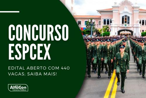 Oportunidades no concurso do Exército para admissão à Escola Preparatória de Cadetes (EsPCEx) são destinadas a jovens de ambos os sexos com ensino médio e idade entre 17 e 22 anos. Inscrições começam em 5 de maio
