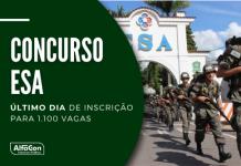 Destinadas à Escola de Sargentos das Armas (ESA), oportunidades no concurso Exército cobram ensino médio e estão distribuídas entre três áreas: geral, saúde e música. Saiba como participar