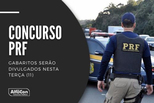 Lista de aprovados na primeira fase do concurso PRF (Polícia Rodoviária Federal) está prevista para ser divulgada no próximo dia 28