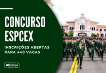 As inscrições no concurso EsPCEx de nível médio estão abertas até 14 de junho. Depois de formado, o segundo-tenente tem um salário de R$ 7,4 mil