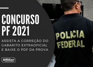 Com salários de até R$ 23,6 mil, concurso PF 2021 (Polícia Federal) oferece 1.500 vagas. Provas aconteceram neste domingo (23), assista a correção!