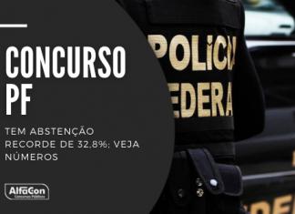Dos 321,6 mil candidatos inscritos, 105,5 mil não compareceram ontem aos exames do concurso PF (Polícia Federal), de acordo com o Cebraspe. Leia mais!