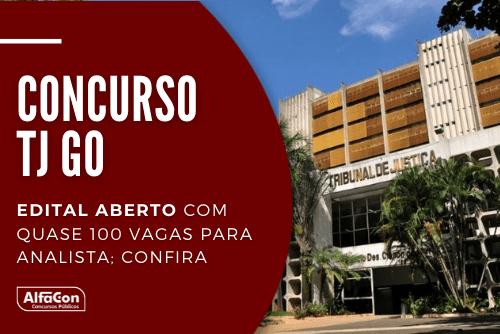 Inscrições para o concurso do TJ GO (Tribunal de Justiça de Goiás) começam em 28 de outubro. Distribuídas entre duas áreas, oportunidades pagam até R$ 4,2 mil