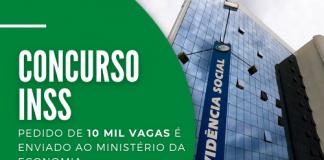 O INSS enviou ao Ministério da Economia opedido para autorização do concurso; dado o aval, seleção deve ocorrer em 2022. Leia mais!