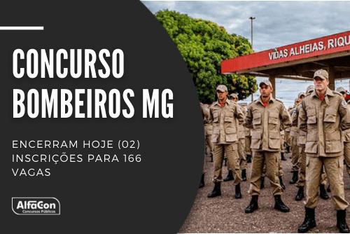 Ofertas do concurso Bombeiros MG (Corpo de Bombeiros do Estado de Minas Gerais) são destinadas a candidatos de nível médio e com idade entre 18 e 30 anos