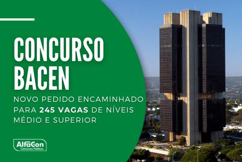 Com autonomia, um novo concurso Bacen (Banco Central) é aguardado. Necessidade de servidores já chega a 2,8 mil vagas