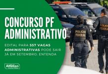 Novo concurso PF (Polícia Federal) conta com pedido tramitado no Ministério da Economia, para preenchimento de vagas na área administrativa, de níveis médio e superior, até R$ 7,8 mil