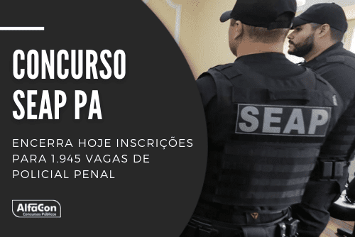 Podem participar do concurso da Seap PA (Secretaria de Administração Penitenciária do Pará) candidatos com nível médio. Há ofertas para trabalhar em 12 regiões