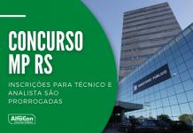 Oportunidades no concurso do MP RS (Ministério Público do Rio Grande do Sul) estão distribuídas entre as 16 regiões administrativas do Estado. Saiba como se inscrever no processo seletivo