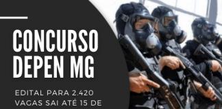 Concurso Depen MG: edital para vagas sai até 15 de julho