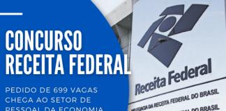 Receita Federal: 699 vagas para concurso são analisadas