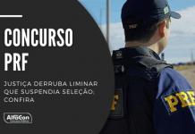 Cebraspe divulgou nesta terça-feira (21) a convocação dos aprovados no concurso da PRF (Polícia Rodoviária Federal) para matrícula no curso de formação. Prazo para cadastro termina amanhã