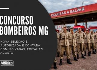 Concurso Bombeiros MG (Corpo de Bombeiros de Minas Gerais) será para soldados e oficiais, com exigência de ensino médio e iniciais até R$ 9 mil