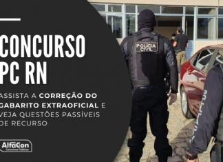A prova do concurso PC RN (Polícia Civil do Rio Grande do Norte) ocorreu neste domingo (11/07) para os cargos de agente e escrivão; veja o gabarito e questões passíveis de recurso
