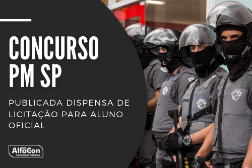 O novo concurso PM SP (Polícia Militar do Estado de São Paulo) para aluno oficial exige ensino médio completo e idade entre 17 e 30 anos; veja mais