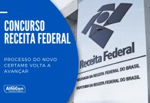 Novo concurso Receita Federal pode ocorrer ainda em 2021, para preenchimento de 699 vagas para nível superior, com iniciais de até R$ 21 mil