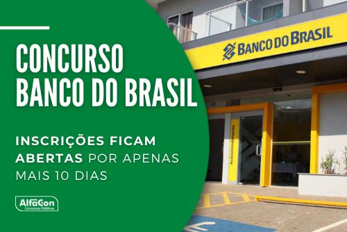 Com iniciais de R$ 3 mil, concurso do Banco do Brasil oferece 4.480 vagas de nível médio em todos os estados e no DF. Saiba como se inscrever