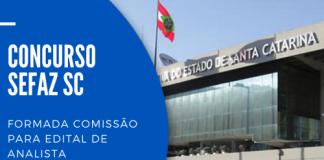 O novo concurso Sefaz SC (Secretaria do Estado da Fazenda de Santa Catarina) será para a carreira de analista da receita estadual; veja mais!