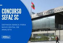 O novo concurso Sefaz SC (Secretaria do Estado da Fazenda de Santa Catarina) será para a carreira de analista da receita estadual