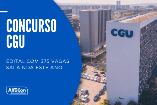 O concurso CGU (Controladoria Geral da União) contará com 375 vagas, sendo 300 para o cargo de auditor fiscal de finanças e controle e 75 para técnico de finanças e controle