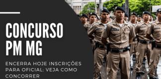 Podem disputar uma das 120 vagas no concurso da PM MG (Polícia Militar de Minas Gerais) profissionais com curso superior em direito. Corporação oferece salário de R$ 6,5 mil