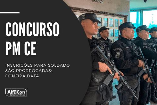 Com salário de R$ 4,1 mil, oportunidades no concurso da PM CE (Polícia Militar do Ceará) podem ser disputadas por candidatos que possuem ensino médio