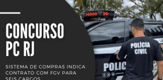 Concurso PC RJ (Polícia Civil do Rio de Janeiro) contará com 400 vagas, para níveis fundamental, médio e superior