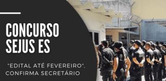 O novo concurso Sejus ES (Secretaria de Justiça do Espírito Santo) será para 600 vagas de inspetor penitenciário. Ensino médio e R$ 2,9 mil