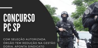 Mesmo com concurso PC SP (Polícia Civil do Estado de São Paulo) em pauta, sindicato ressalta redução do quadro de pessoal nos últimos anos