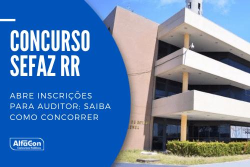 Com oferta de 20 vagas para preenchimento imediato, concurso da Sefaz RR (Secretaria da Fazenda de Roraima) pode ser disputado por candidatos graduados em qualquer área. Prova está marcada para 7 de novembro