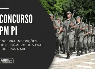 Há oportunidades no concurso da PM PI (Polícia Militar do Piauí) para soldado, com exigência de nível médio, e oficial, que requer graduação em direito. Saiba como participar do processo seletivo