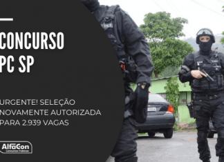Novo concurso Polícia Civil SP (PC SP) é para diversos cargos de nível superior, com iniciais até R$ 11,1 mil