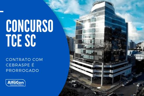 Concurso TCE SC (Tribunal de Contas do Estado de Santa Catarina) terá 160 postos de auditor, sendo 40 imediatos e 120 cadastros de nível superior