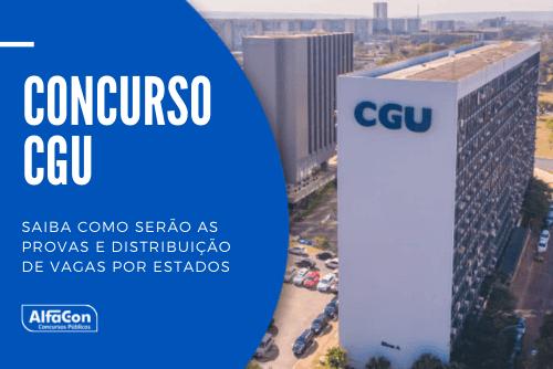 O concurso CGU (Controladoria Geral da União) contará com 375 vagas, sendo 300 para o cargo de auditor e 75 para técnico de finanças e controle
