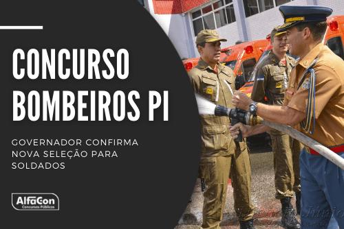 Concurso Bombeiros PI (Corpo de Bombeiros Militares do Estado do Piauí) contará com uma oferta de 60 vagas, com exigência de ensino médio