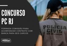 Concurso PC RJ (Polícia Civil do Rio de Janeiro) contará com mais 350 vagas, para níveis fundamental, médio e superior