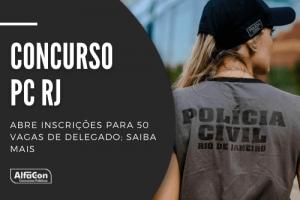 O concurso PC RJ (Polícia Civil do Rio de Janeiro) é destinado a candidatos com nível superior em direito. Ganhos de R$ 18,7 mil