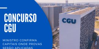O concurso CGU (Controladoria Geral da União) contará com 375 vagas, sendo 300 para o cargo de auditor e 75 para técnico. Edital em novembro