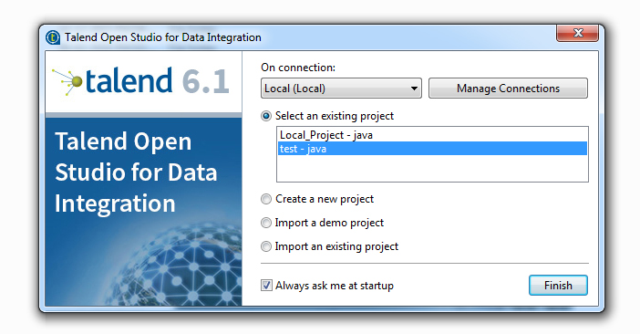 How to Import and Export data from Salesforce using Talend1