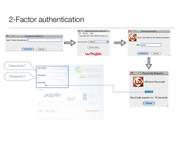 Alfresco Two-Factor Authentication