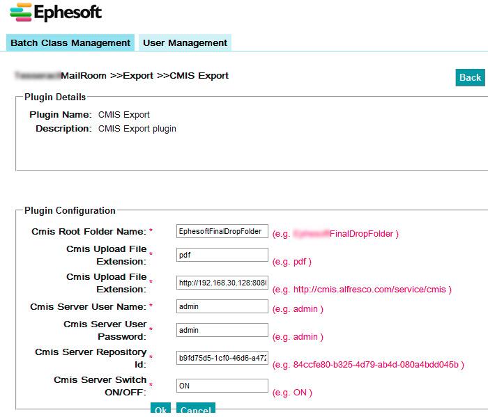 Ephesoft Integration With Alfresco
